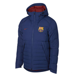 2018-2019 Barcelona Nike Down Fill Jacket (Royal Blue)