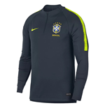 2018-2019 Brazil Nike Training Drill Top (Navy)
