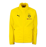 2018-2019 Borussia Dortmund Puma Rain Jacket (Yellow) - Kids