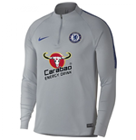 2018-2019 Chelsea Nike Drill Training Top (Wolf Grey)