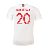 2018-2019 Portugal Away Nike Football Shirt (Quaresma 20)