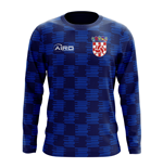 2018-2019 Croatia Long Sleeve Away Concept Football Shirt