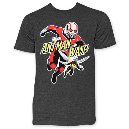 ANT-MAN And The Wasp Attack Men's Gray Tee Shirt