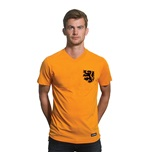 Holland V-neck T-Shirt | Orange