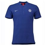 2018-2019 Chelsea Nike Authentic Grand Slam Polo Shirt (Blue)