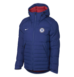 2018-2019 Chelsea Nike Authentic Down Jacket (Blue)