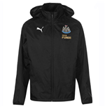 2018-2019 Newcastle Puma Rain Jacket (Black)