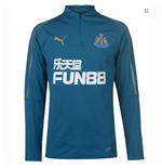 2018-2019 Newcastle Puma Quarter Zip Training Top (Corsair)