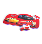 DISNEY Cars 3 Floor Mat Puzzle with 25 Pieces