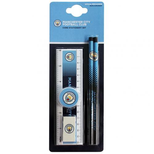 Manchester City F.C. Core Stationery Set FD