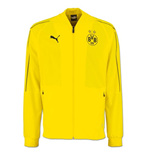 2018-2019 Borussia Dortmund Puma Leisure Jacket (Yellow) - Kids