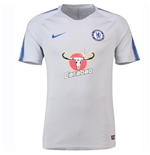 2018-2019 Chelsea Nike Training Shirt (Wolf Grey)
