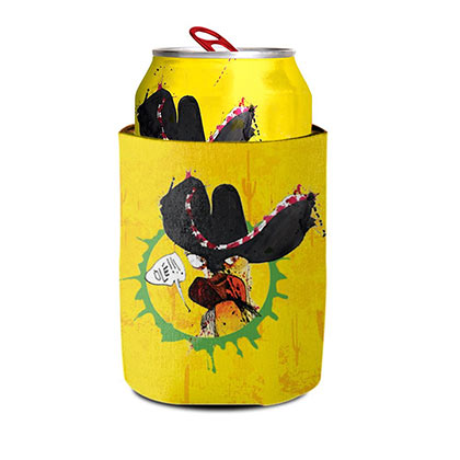 FLYING DOG Numero Uno Mas Yellow Beer Can Cooler Insulator