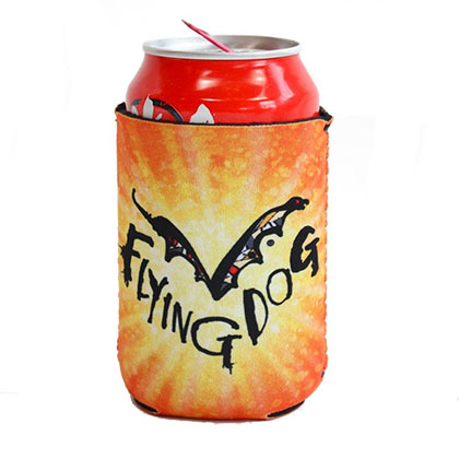 FLYING DOG Beer Orange Can Cooler