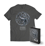 Game of Thrones T-Shirt Targaryen Metallic Shield