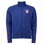 2018-2019 Atletico Madrid Nike Core Trainer Jacket (Blue)