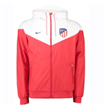 2018-2019 Atletico Madrid Nike Authentic Windrunner Jacket (Red)
