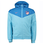 2018-2019 Atletico Madrid Nike Authentic Windrunner Jacket (Blue)