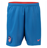 2018-2019 Atletico Madrid Away Nike Football Shorts (Blue)