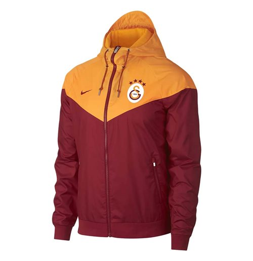 2018 2019 Galatasaray Nike Authentic Windrunner Jacket (Pepper Red)