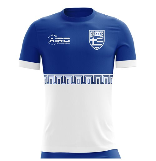 2018-2019 Greece Away Concept Football Shirt (Kids)