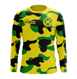 2018-2019 Jamaica Long Sleeve Home Concept Football Shirt (Kids)