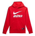 2018-2019 Atletico Madrid Nike OTH Hoody (Red) - Kids