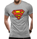 Superman - Logo - Unisex T-shirt Grey
