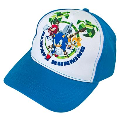 SONIC THE HEDGEHOG Group Shot Always Running Youth Hat