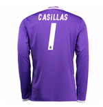 2016-17 Real Madrid Away Shirt (Casillas 1) - Kids
