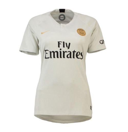 920bef22ba8f Buy Official 2018-2019 PSG Away Nike Womens Football Shirt