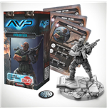 AvP Tabletop Game The Hunt Begins Expansion Pack USCM Officer