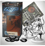 AvP Tabletop Game The Hunt Begins Expansion Pack Alien Stalkers