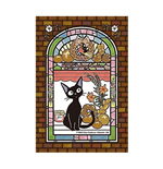 Kiki's Delivery Service Art Crystal Jigsaw Puzzle Jiji's Bakehouse