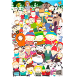 South Park Poster - Cast - 61x91,5 Cm