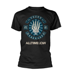 All Time Low T-shirt Skele Spade