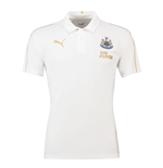 2018-2019 Newcastle Puma Leisure Polo Shirt (White)