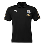 2018-2019 Newcastle Puma Leisure Polo Shirt (Black)