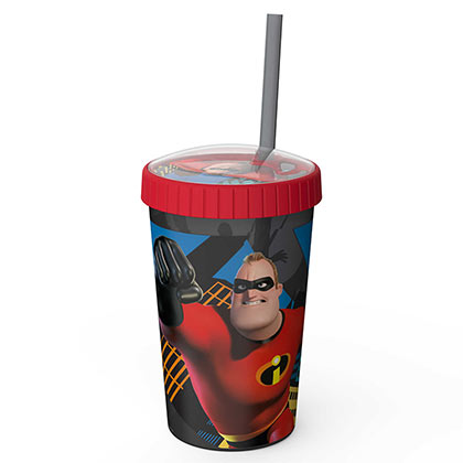Disney Pixar INCREDIBLES 2 Mr. Incredible 16oz Travel Cup