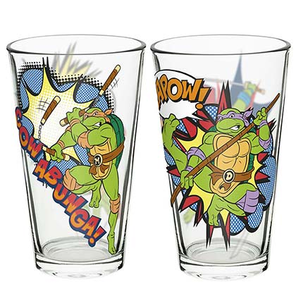 TEENAGE MUTANT NINJA TURTLES Pint Glass Set Of 2