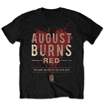 August Burns Red Men's Tee: Hearts Filled (Retail Pack)