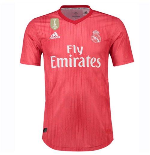 sports shoes 52d61 cfa4c 2018-2019 Real Madrid Adidas Authentic Third Football Shirt