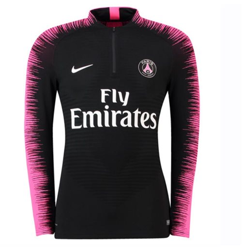 newest collection the sale of shoes authorized site 2018-2019 PSG Nike Strike Vaporknit Drill Top (Black)