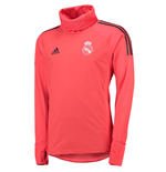2018-2019 Real Madrid Adidas UCL Warm Up Top (Red)