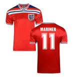 Score Draw England World Cup 1982 Away Shirt (Mariner 11)