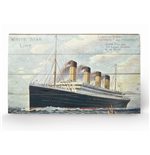 Titanic Print on wood 311272