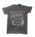 Bon Jovi T-shirt Slippery When Wet (vintage WASH)