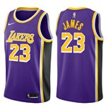 Men's Los Angeles Lakers LeBron James Nike Statement Edition Replica Jersey