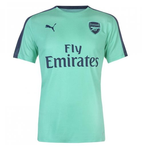 10e8febed29 Buy Official 2018-2019 Arsenal Puma Stadium Jersey (Green)