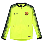 2018-2019 Barcelona Nike Anthem Jacket (Volt) - Kids